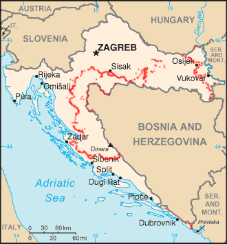 Croatia_minefields