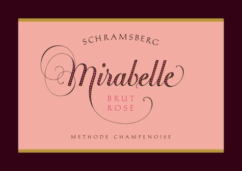 Schramsberg-Vineyard-Mirabelle-Brut-Rose-Label