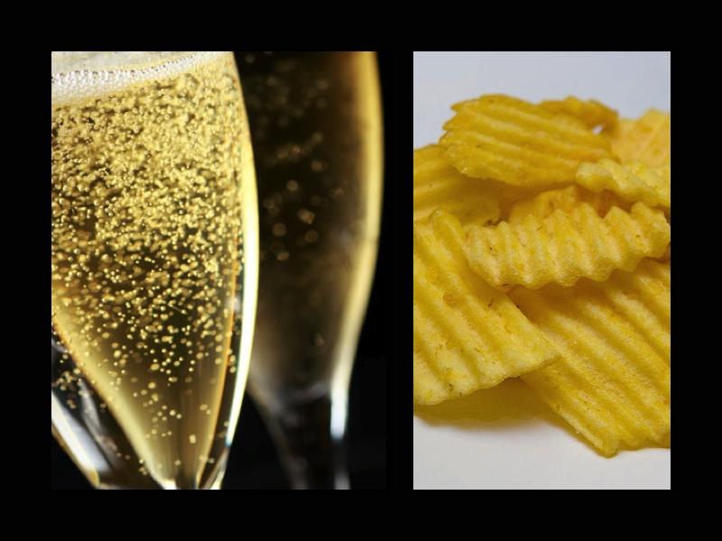 Champagne Potato Chips
