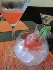 Watermelon-Basil Martini