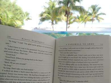 A little beach reading . . .