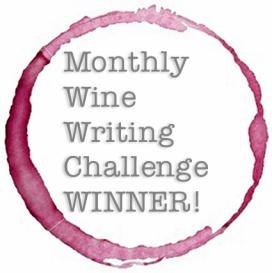 Monthly wine writing challenge winner