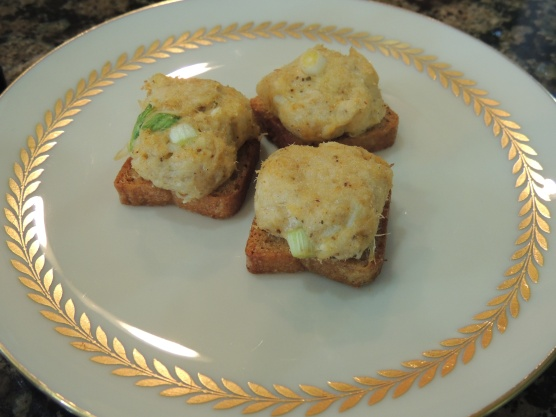 Lady Mary's Crab Canapés