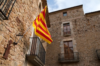 catalonia flag pic