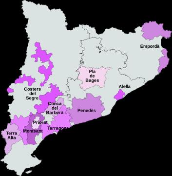 Catalonia Wine Regions