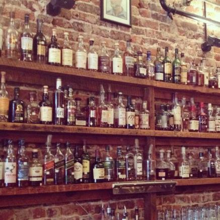 bourbon wall
