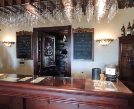 The tasting bar.