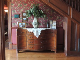 A little nook with a charming dresser.