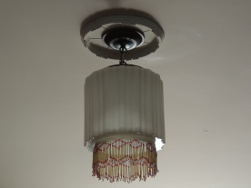 This Art Deco light fixture caught my eye.