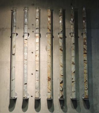 Granite Core Sample