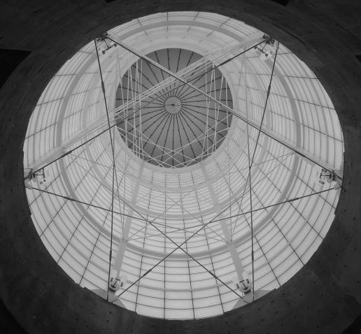 RdV's translucent silo.
