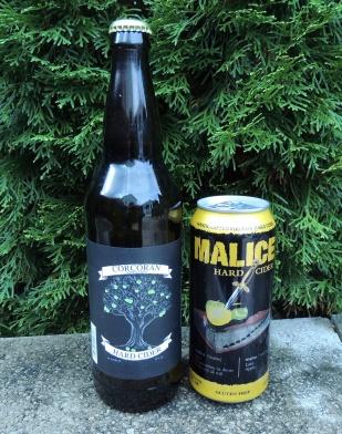 Corcoran Hard Cider & Winchester Cider Works Malice