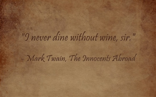 wine sir quote