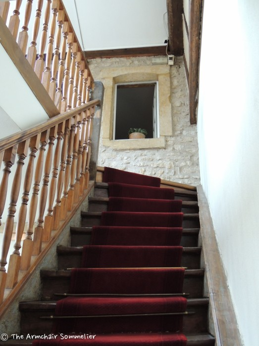 17th century stairs, another view.