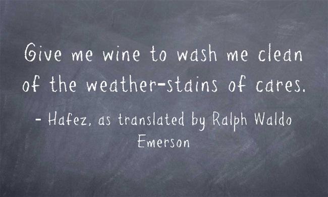 Give-me-wine-to-wash-me