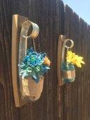Wine Barrel Ring Flower Vase