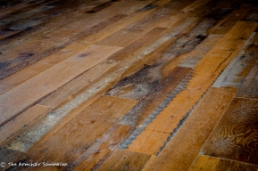 Reclaimed barn wood floors